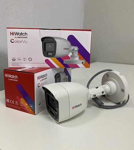 HDTVI видеокамеры HiWatch ColorVu в наличии
